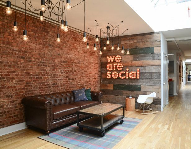 Offices with an industrial interior design touch COLOR TRENDS: The ...