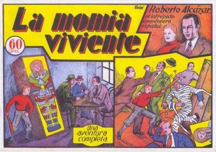 ROBERTO ALCAZAR Y PEDRIN (1941, VALENCIANA) 6 - Ficha de número en Tebeosfera