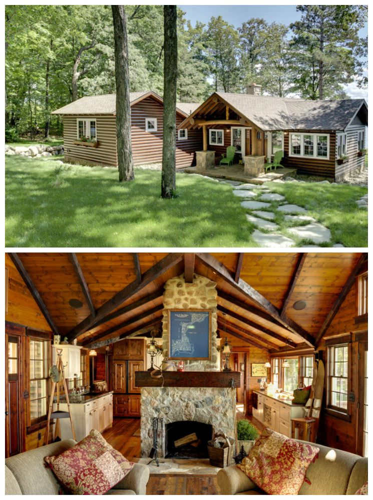 17 Log Cabins We Love Luxury Log Cabins House Exterior Log Cabin Interior