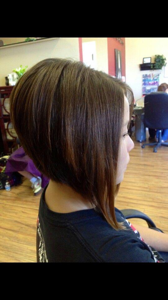Long Stacked Bob Haircut