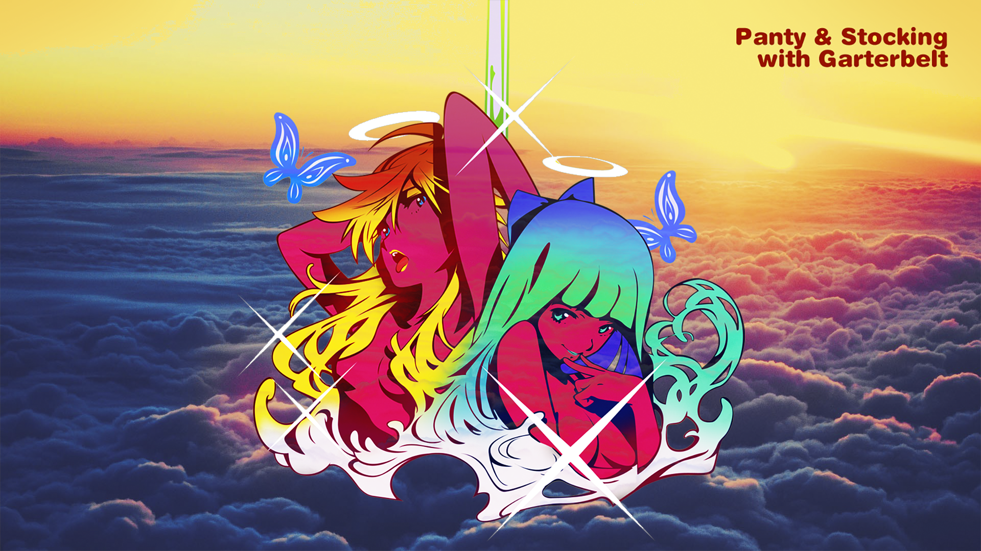 Panty And Stocking Wallpaper Hd Wallpaper From Gallsource