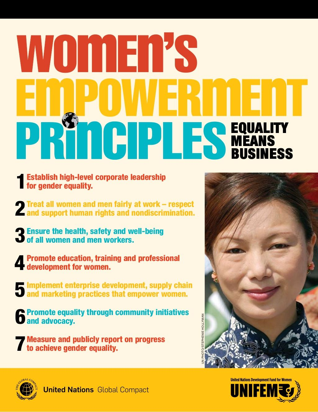 Women's Empowerment Principles by Dr Lendy Spires via