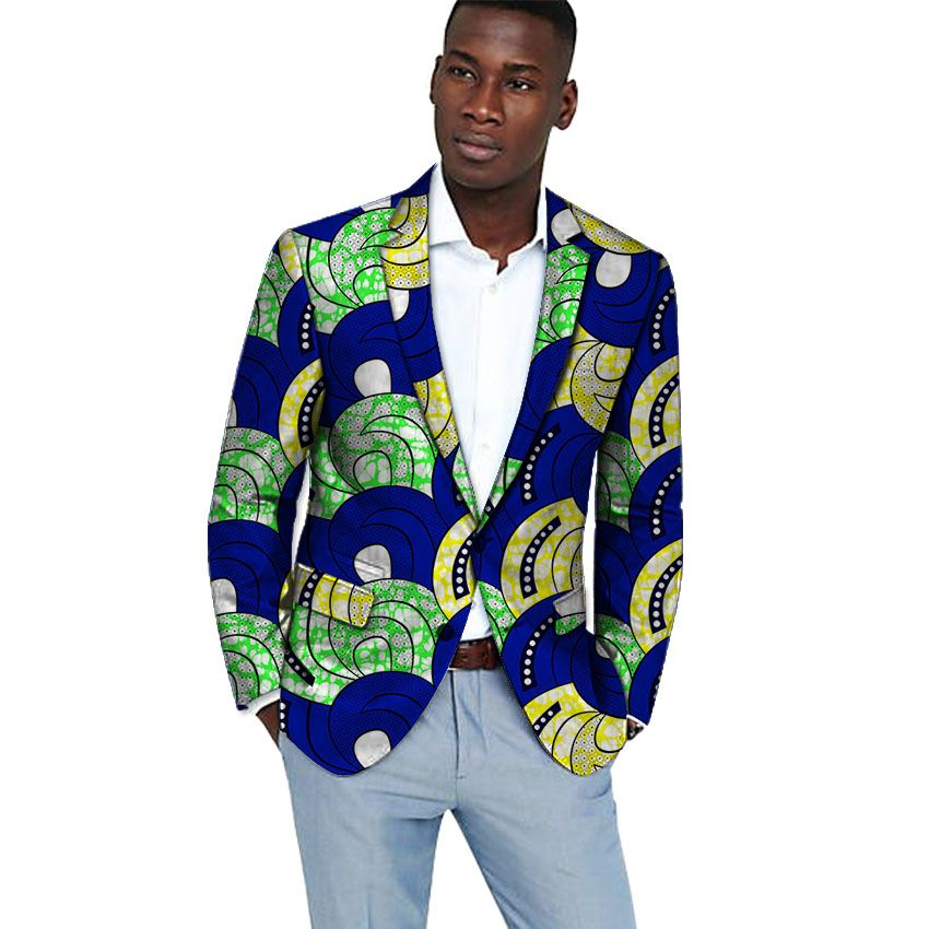Click to Buy    Handsome dashiki suit customized men african blazer for  party 921a7ba0de1a