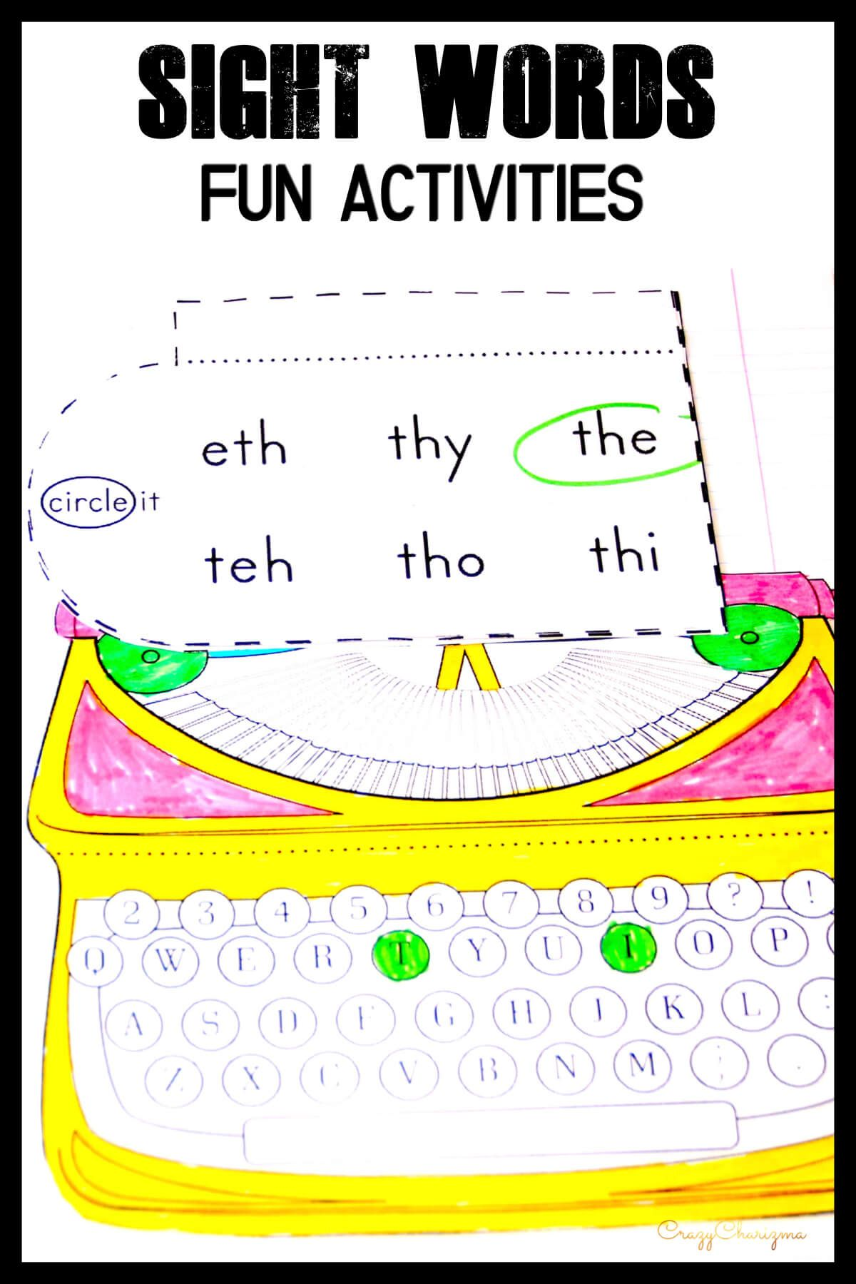 Need A Memorable Way To Practice Sight Words In