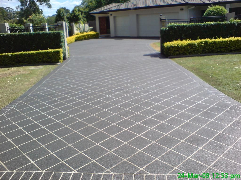 ideas concrete driveway design ideas stamped concrete design ideas and - Concrete Driveway Design Ideas