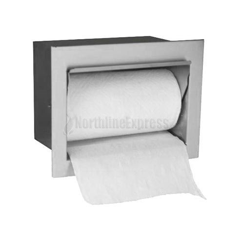 Firemagic built in paper towel holder firemagic for Outdoor towel caddy