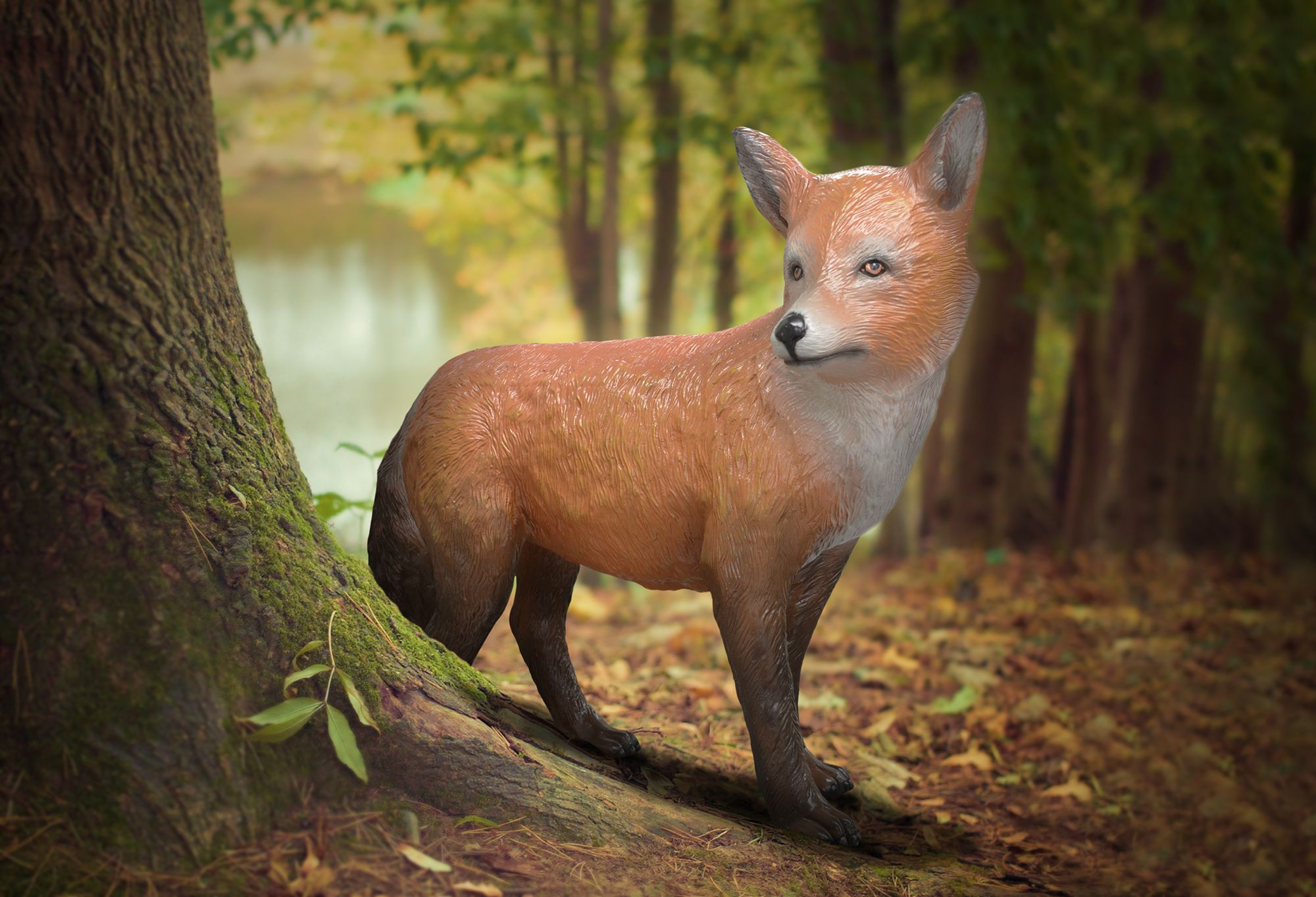 The Fox Appears In The Folklore Of Many Cultures Often As A Symbol