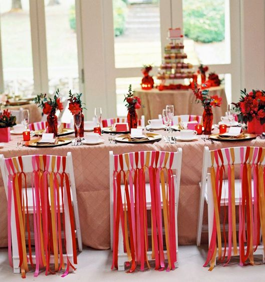 Five Fresh Ideas for Using Ribbon Streamers at Your Wedding ...