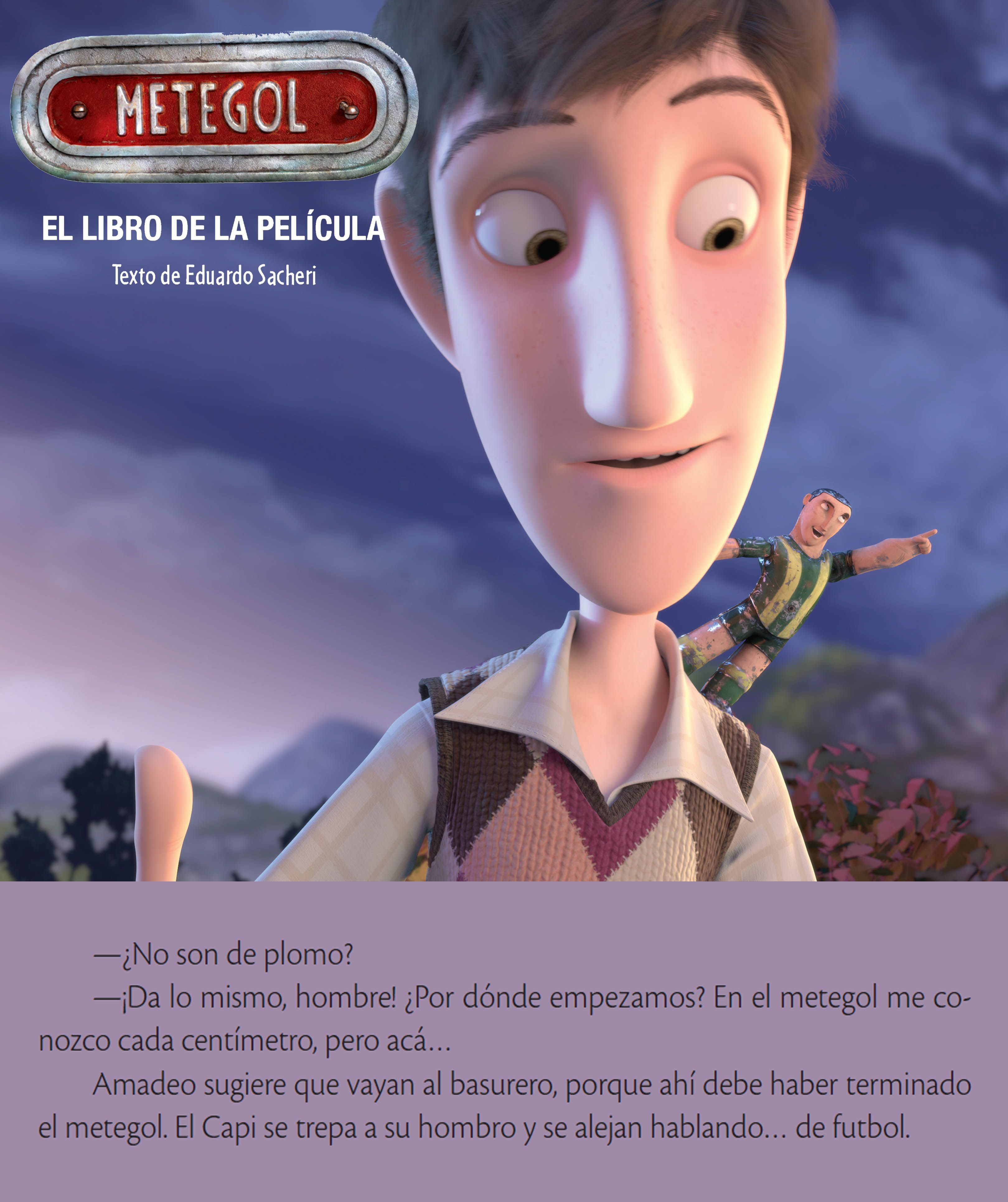 Metegol Animation 3d Animation Film