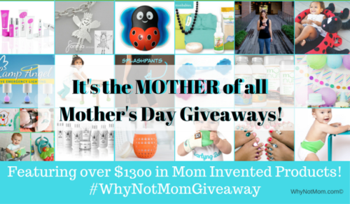 Win over $1300 in Mom Invented products! #WhyNotMomGiveaway {US}... IFTTT reddit giveaways freebies contests