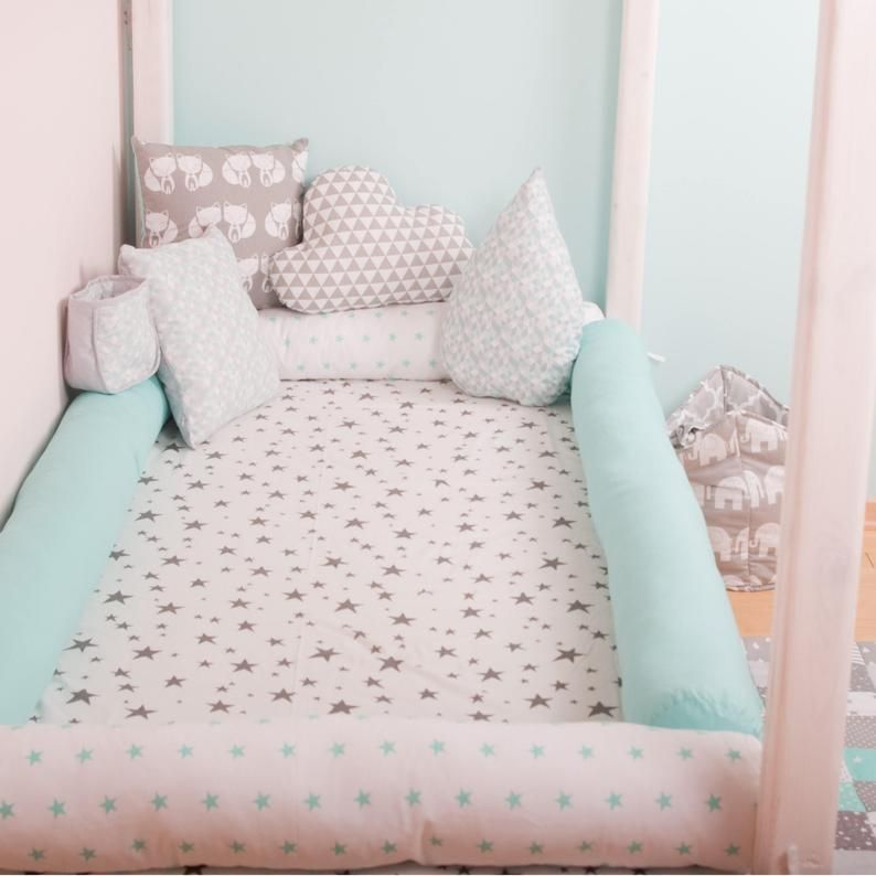 diy montessori bed bumper