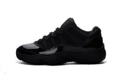 jordan 11 low all black