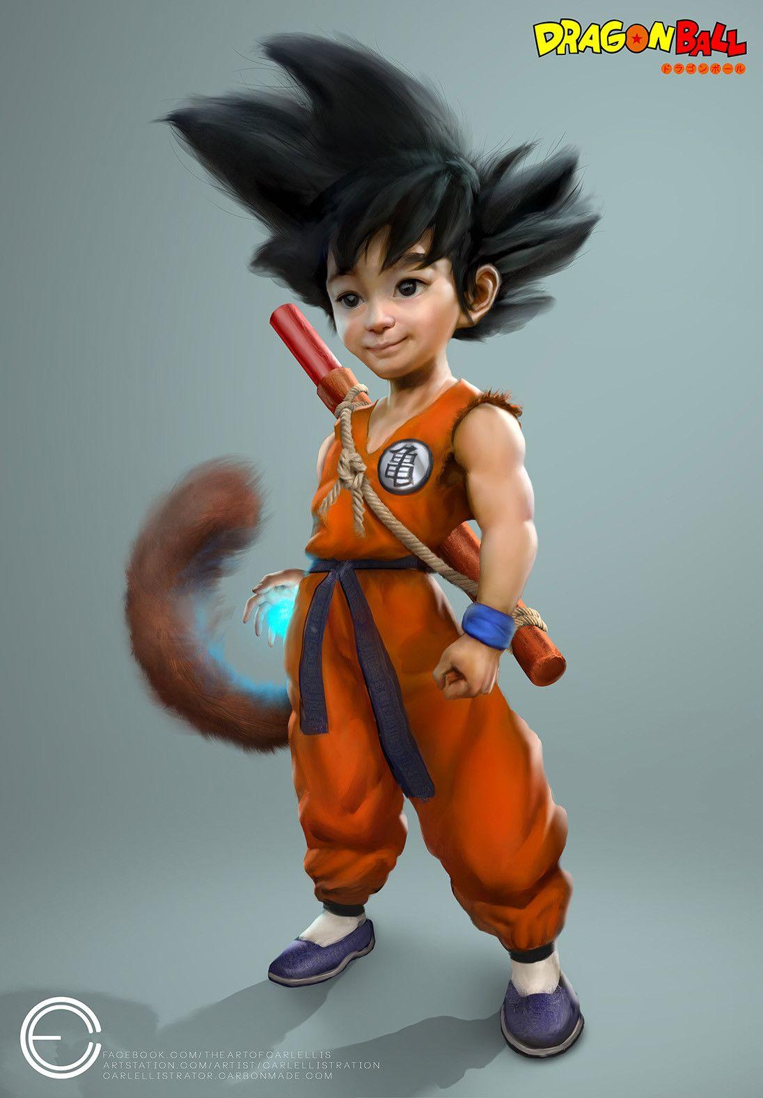 Pin By Jestradab On Goku Bambino Dragon Ball Super Goku Kid Goku Dragon Ball
