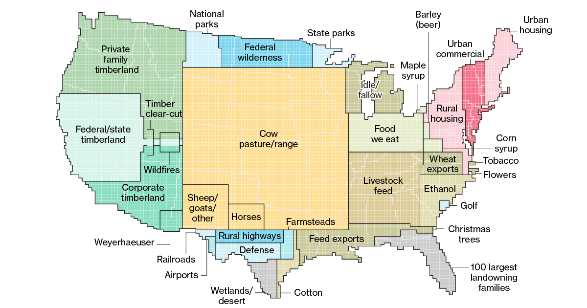 Here's How America Uses Its Land | Ag News | Land use, Map ... on the 50 states map, hawaii states map, untied states map,
