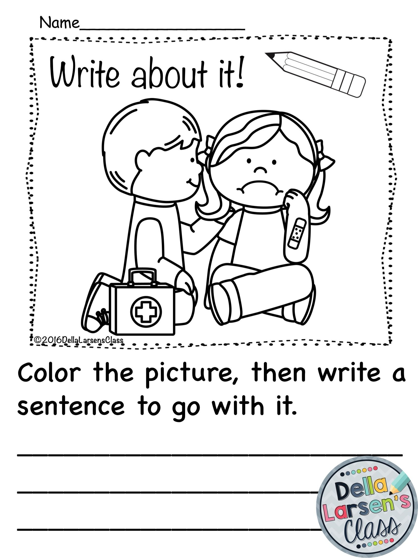 Kindergarten Writing Prompts Bundle