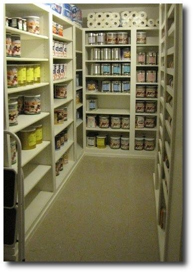 Build Pantry In The Empty Extra Room Downstairs This Will Become Main Once Kitchen Moved