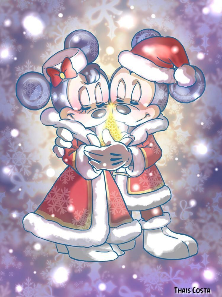 Pin By 古賀悦子 On Minnie And Mickey Mickey Mouse Wallpaper Mickey Christmas Mickey Mouse Christmas