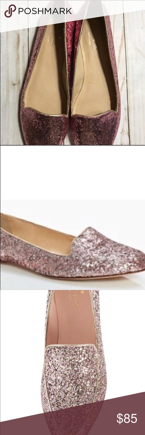 Kate Spade Glitter Loafers | Kate spade