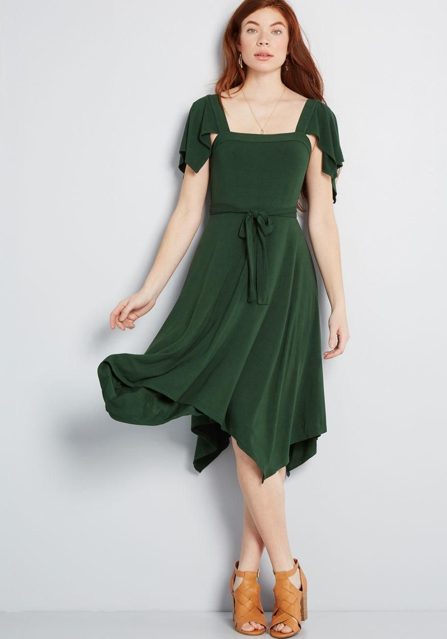 Awestruck Upon Entry Knit Dress Turning Heads Is As Simple As Arriving To The Occasion In This Green Dress A Modcloth Excl Knit Dress Dresses Pretty Outfits [ 1304 x 913 Pixel ]
