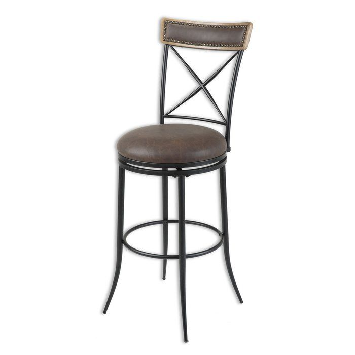 Quantock 26 Quot Swivel Bar Stool With Images Metal Bar