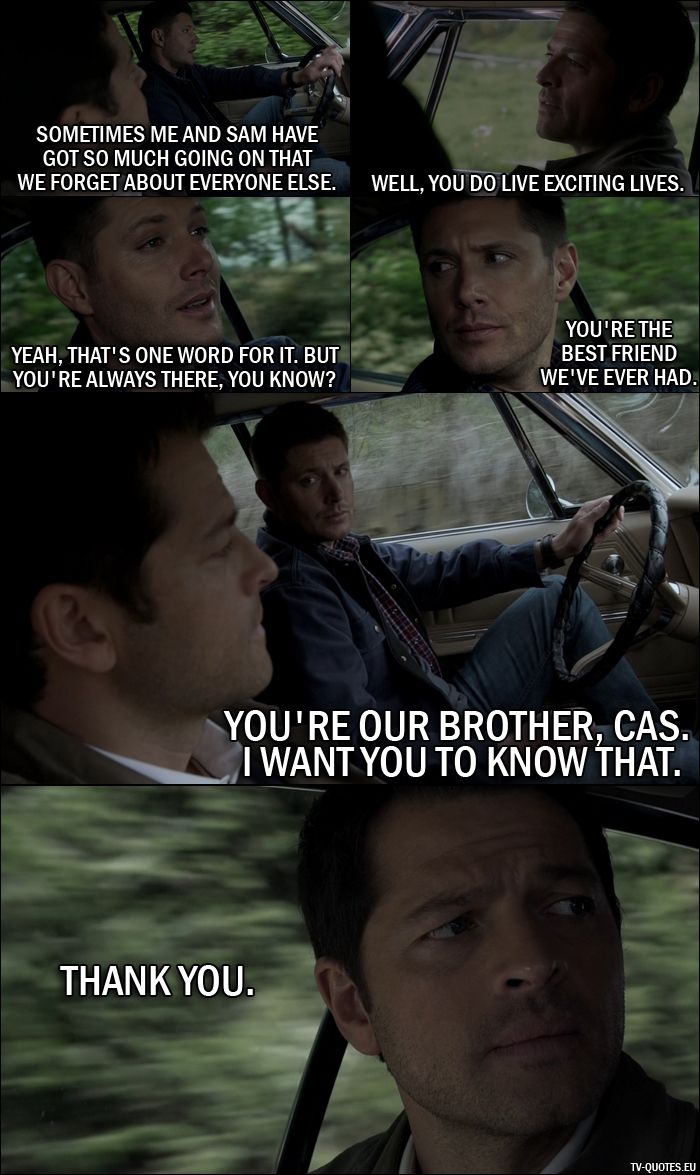 20 Best Supernatural Quotes From Alpha And Omega 11x23 Dean