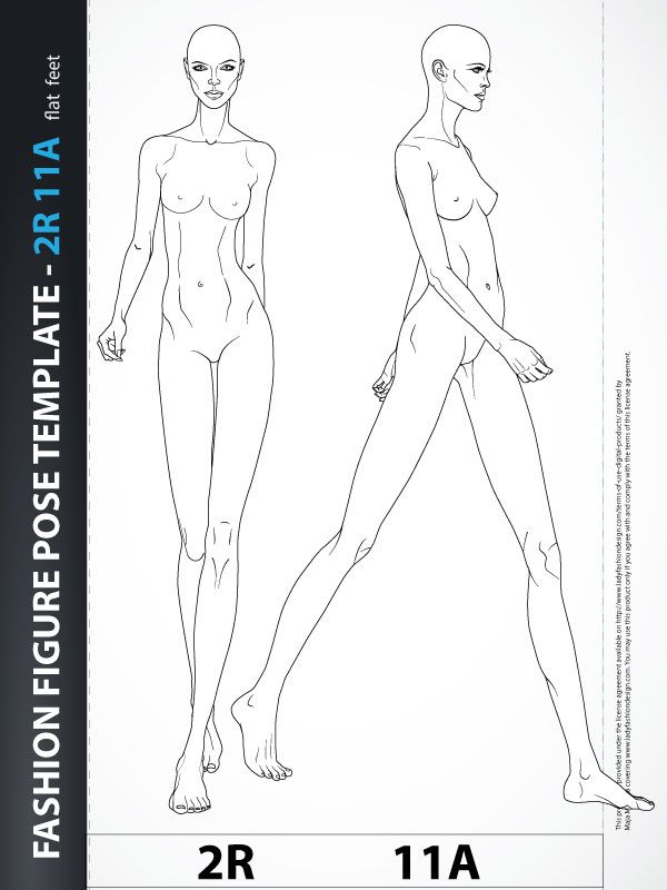 croquis for fashion drawing - Google Search | Rysunek żurnalowy ...