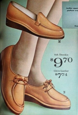 fa7f90e6b09 1960s comfort shoes or orthopedic style shoes. This style has never gone  away. Nurse shoes  yup.