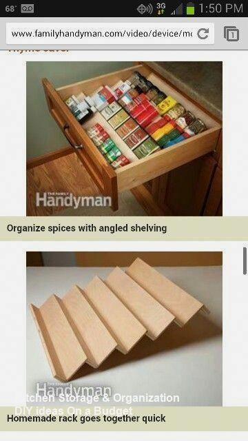 10 Modest Kitchen area Organization And DIY Storag