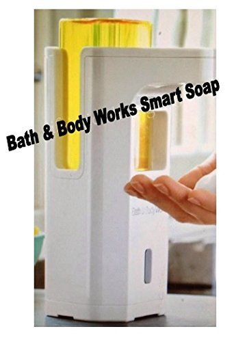 Bath Body Works Touch Free Smartsoap Automatic Hand Soap Dispenser White Dispenser Soap Refills Sold Separately Bath B Bath And Body Works Bath And Body