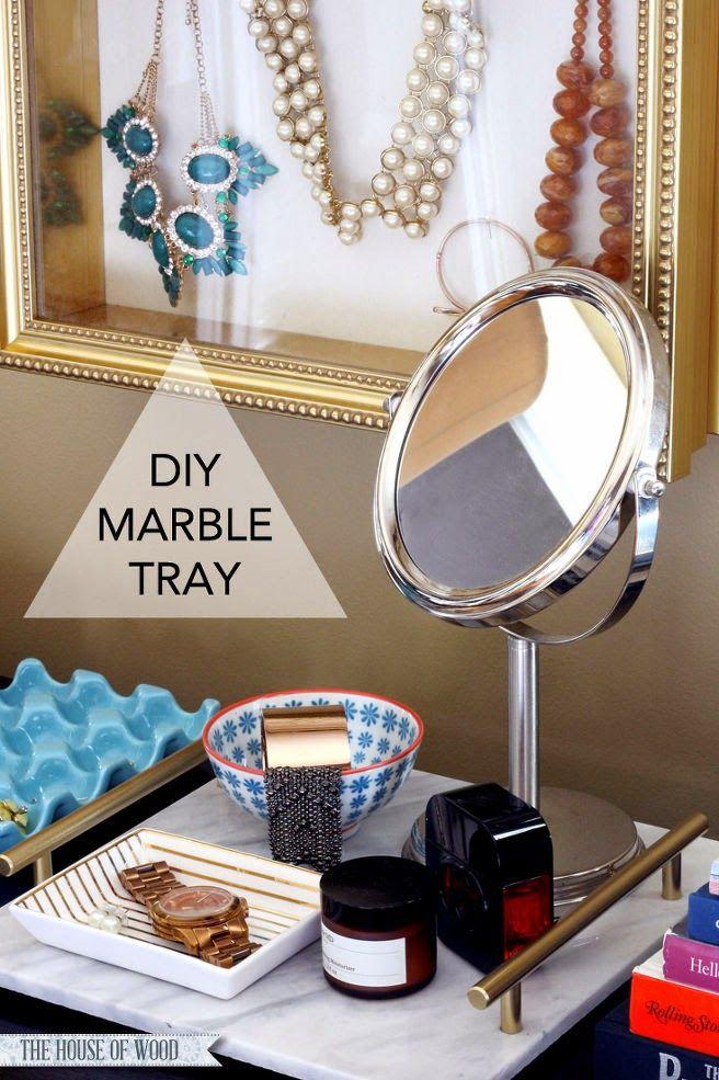 Design-de-casa: Faça uma bandeja charmosa para o quarto!