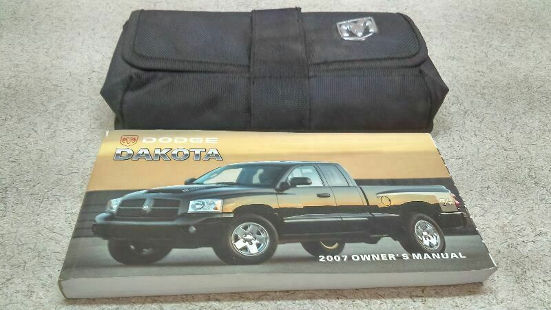 Owners Manual Guide Book Fits 2007 Dodge Dakota M 173081 Dodgetruck Dodge Dakota 2010 Honda Odyssey Guide Book