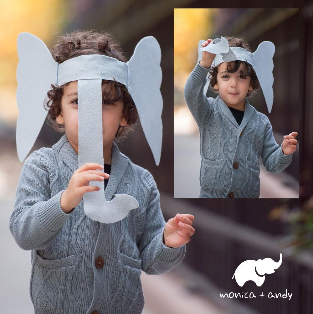 #tbt M+A Halloween Timesaver - The Elephant Costume