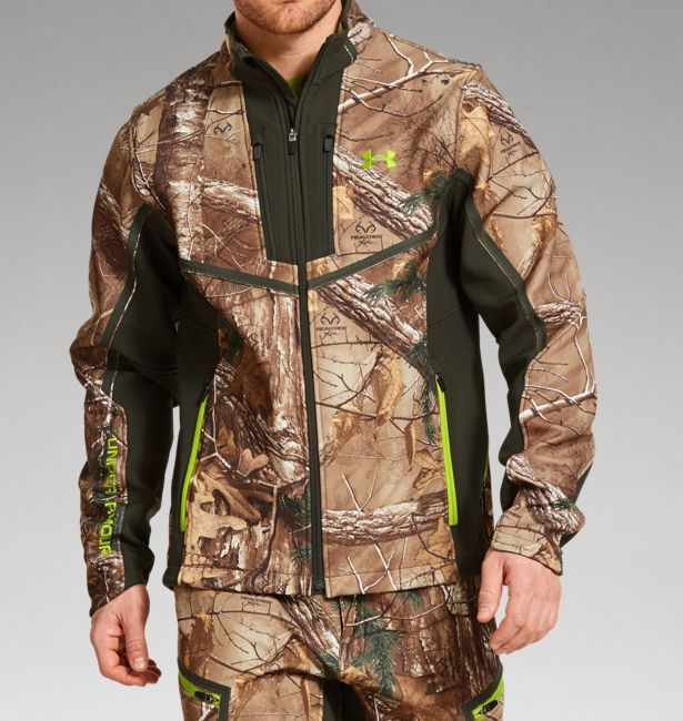 d43a94716a2bd Men's UA Storm ColdGear® Infrared Scent Control Speed Freek Jacket   Under  Armour US Real tree camo, LG