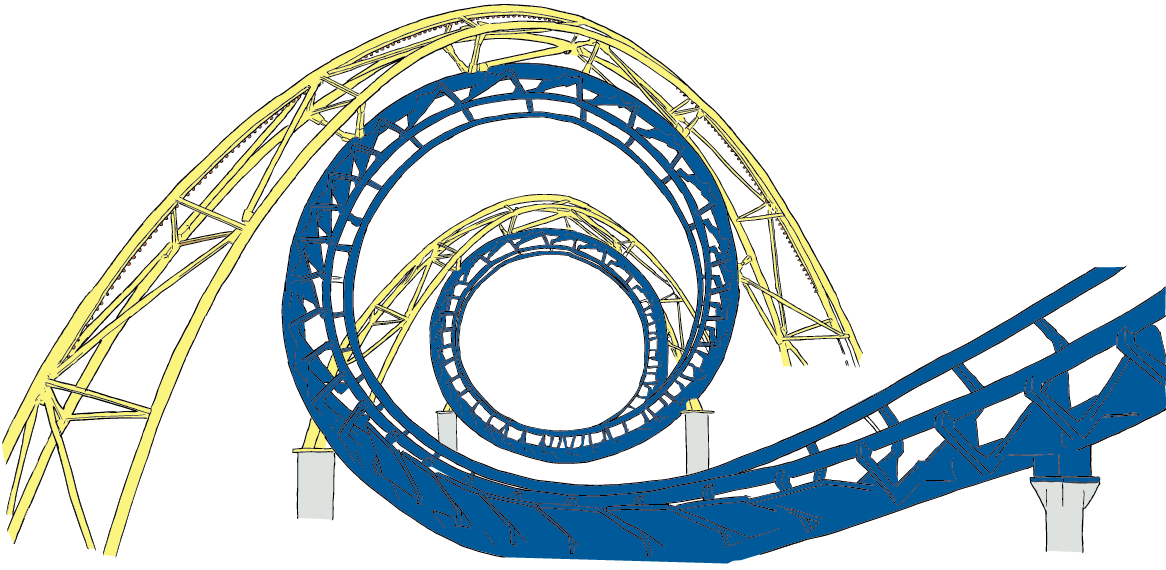 The Physics Of Roller Coasters R Roller Coaster Roller Free Clip Art