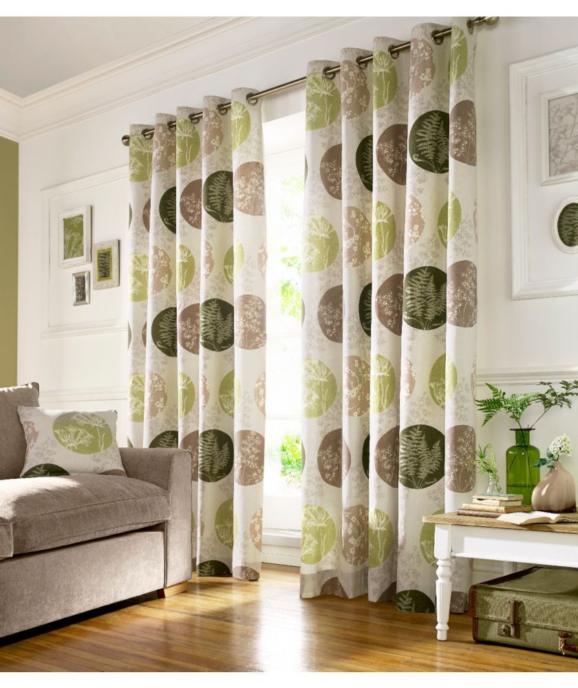 Buy Brightwood Green Curtains - 229cm x 137cm at Argos.co.uk - Your ...