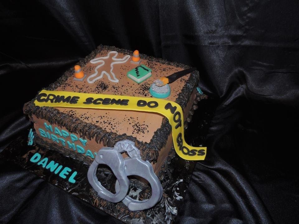 Cake Criminal Justice Cakes