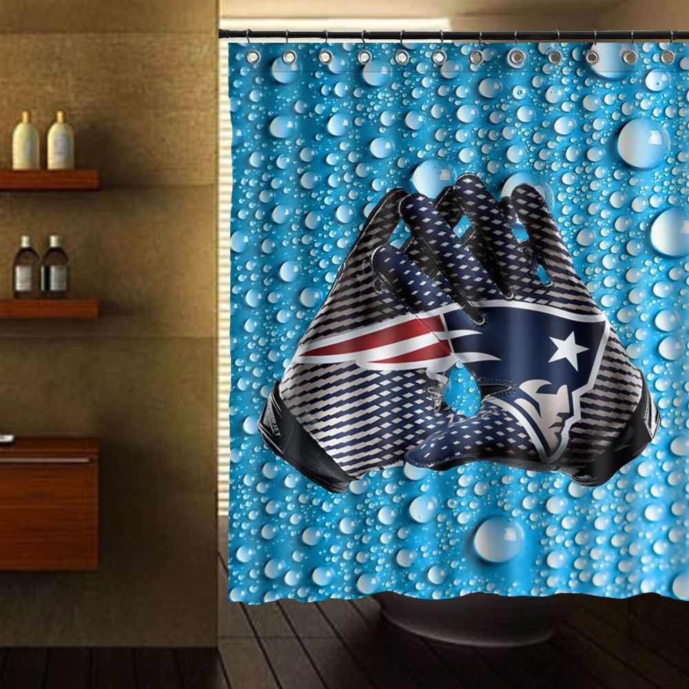 England Patriots Shower Curtain 60 X 72 Unbranded