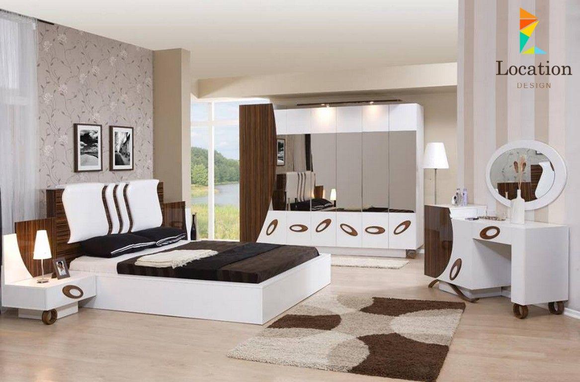 اكبر تشكيلة صور غرف نوم مودرن 2017 2018 لمحبي الأناقة و التميز لوكشين دي White Bedroom Set Furniture Master Bedroom Furniture Modern Bedroom Furniture Sets