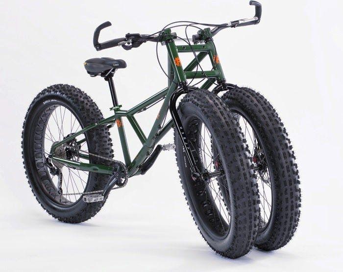 Rungu Juggernaut Three-Wheeled Bike is ready for sand and snow ...
