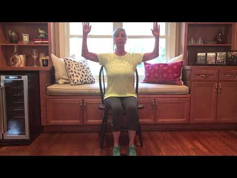 These chair exercises can strengthen your arms, core, hips