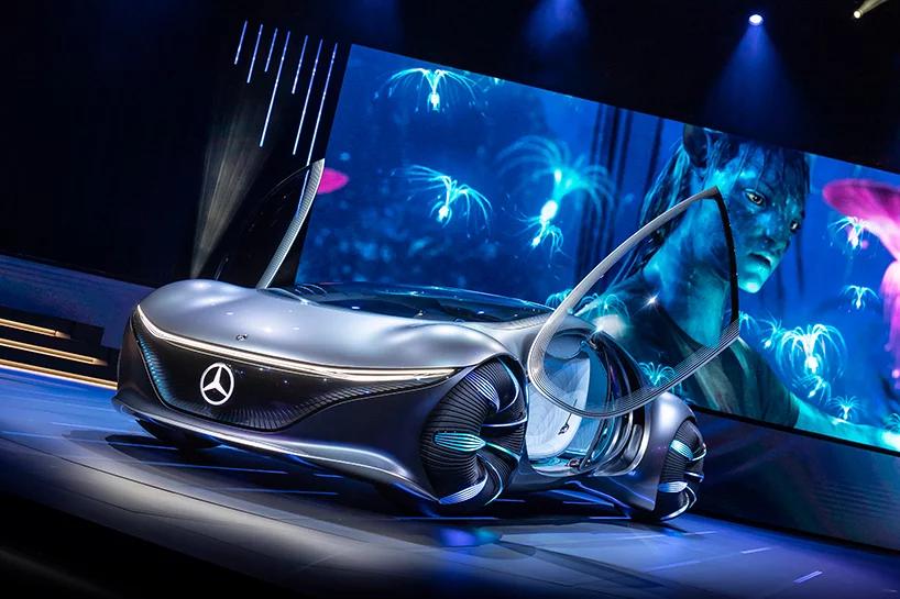 Avatar Inspired Mercedes Benz Vision Avtr Concept Lands At Ces 2020 In 2020 Mercedes Mercedes Benz Benz