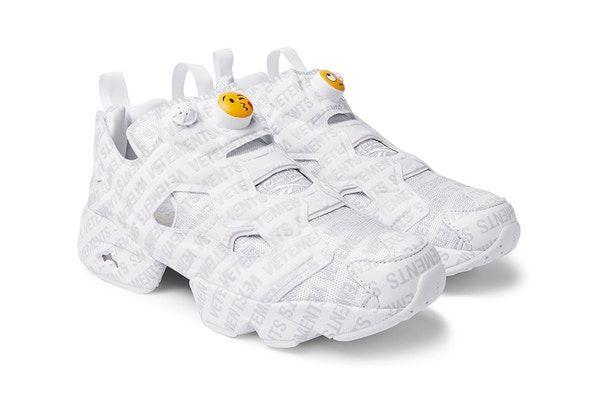 The Vetements x Reebok InstaPump Fury Emoji Sneakers Are Available ... 91b920619