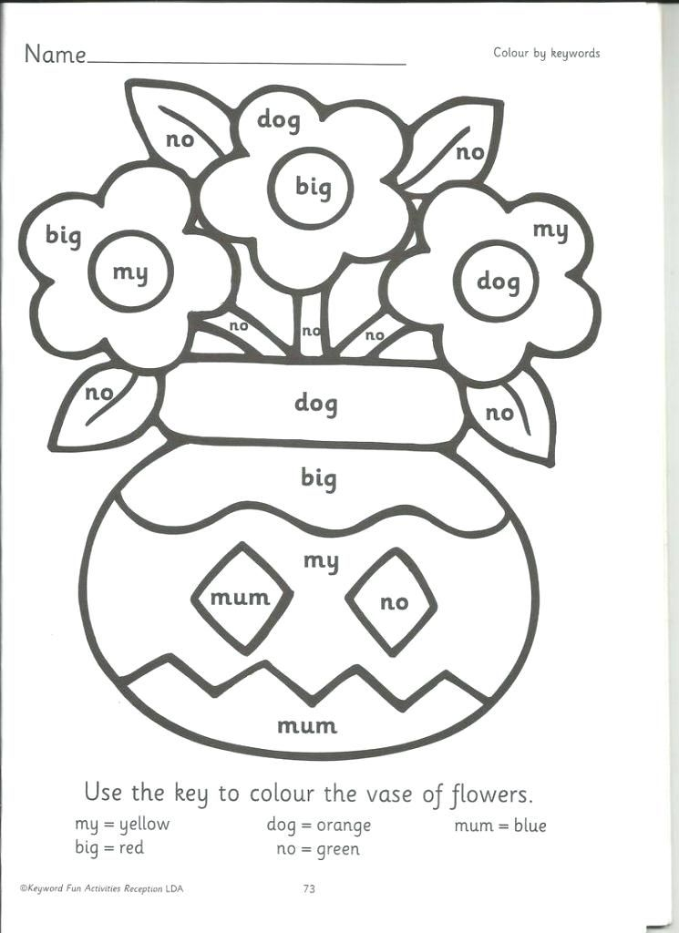 coloring sheets using phonics worksheet coloring pages