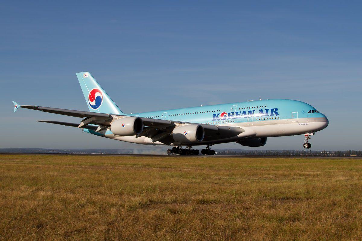 Korean Air Airbus A380861