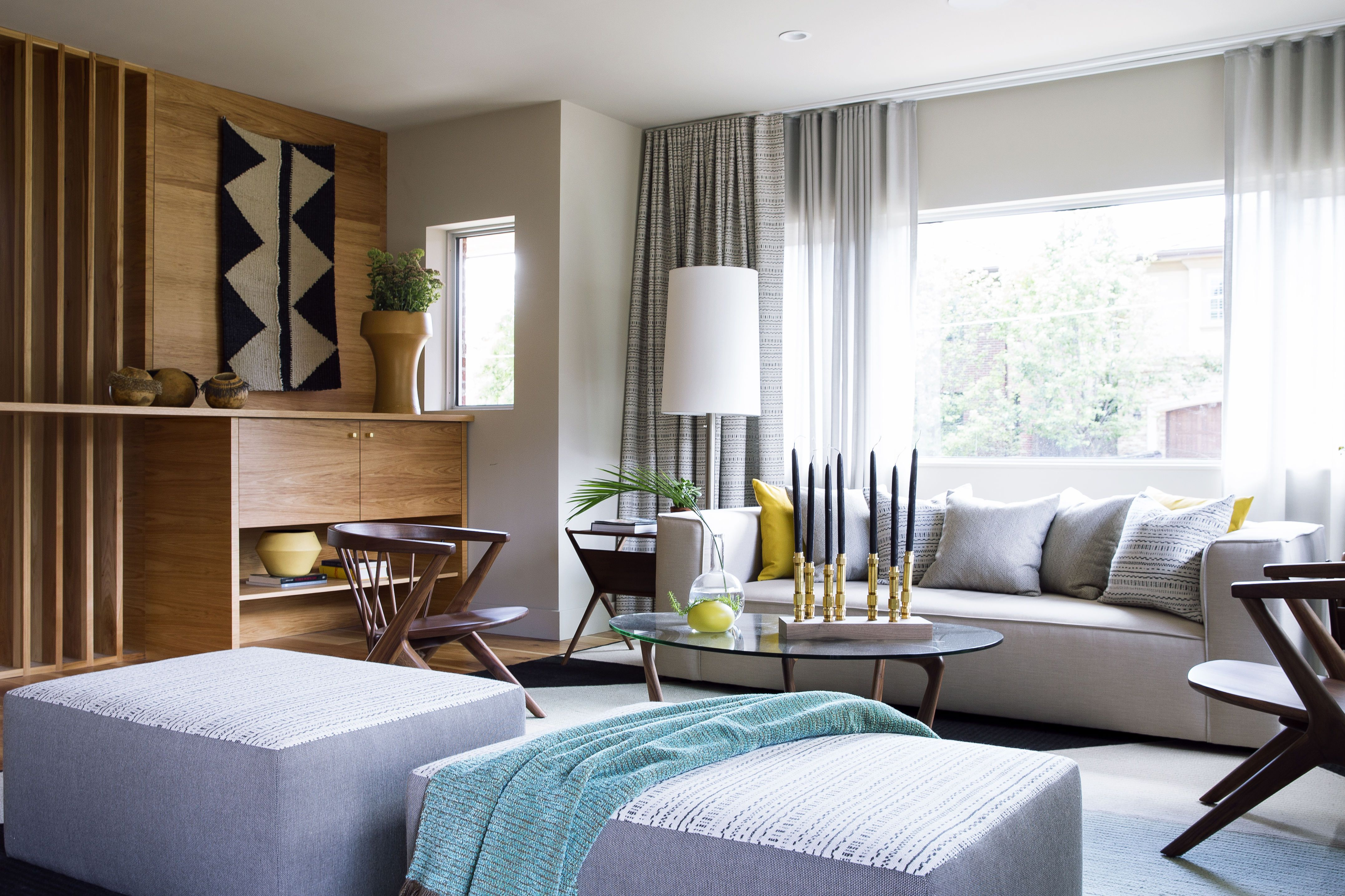 Turn up the heat | Window treatments living room, Curtains ...
