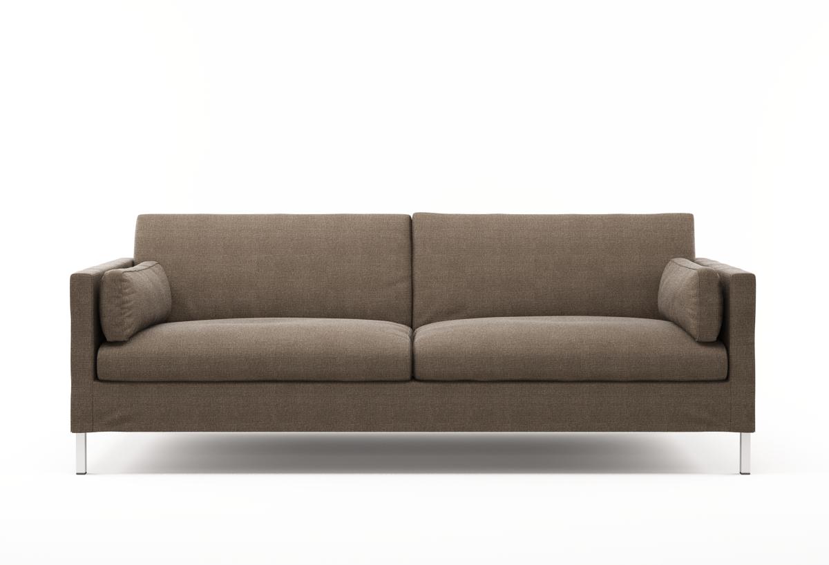 Jacobsen Stoffsofa | Modernes Designer-Sofa mit klarer Linienführung ...