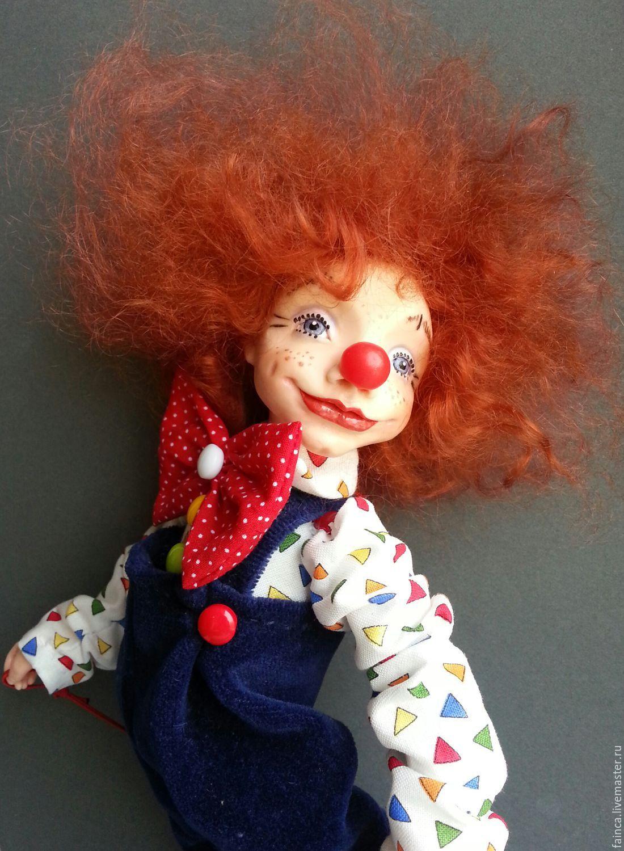 узнать авторские куклы клоуны фото состоит грубых