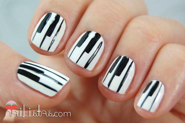 Piano Nail Art Nail Design Pinterest Pianos Nail Nail And