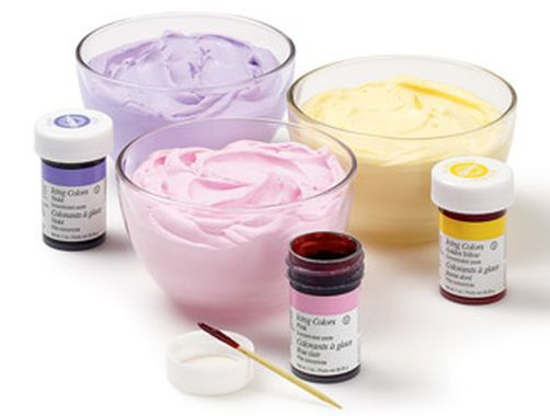 Color Formulas via Wilton: Icing Color Chart | Icing Color ...
