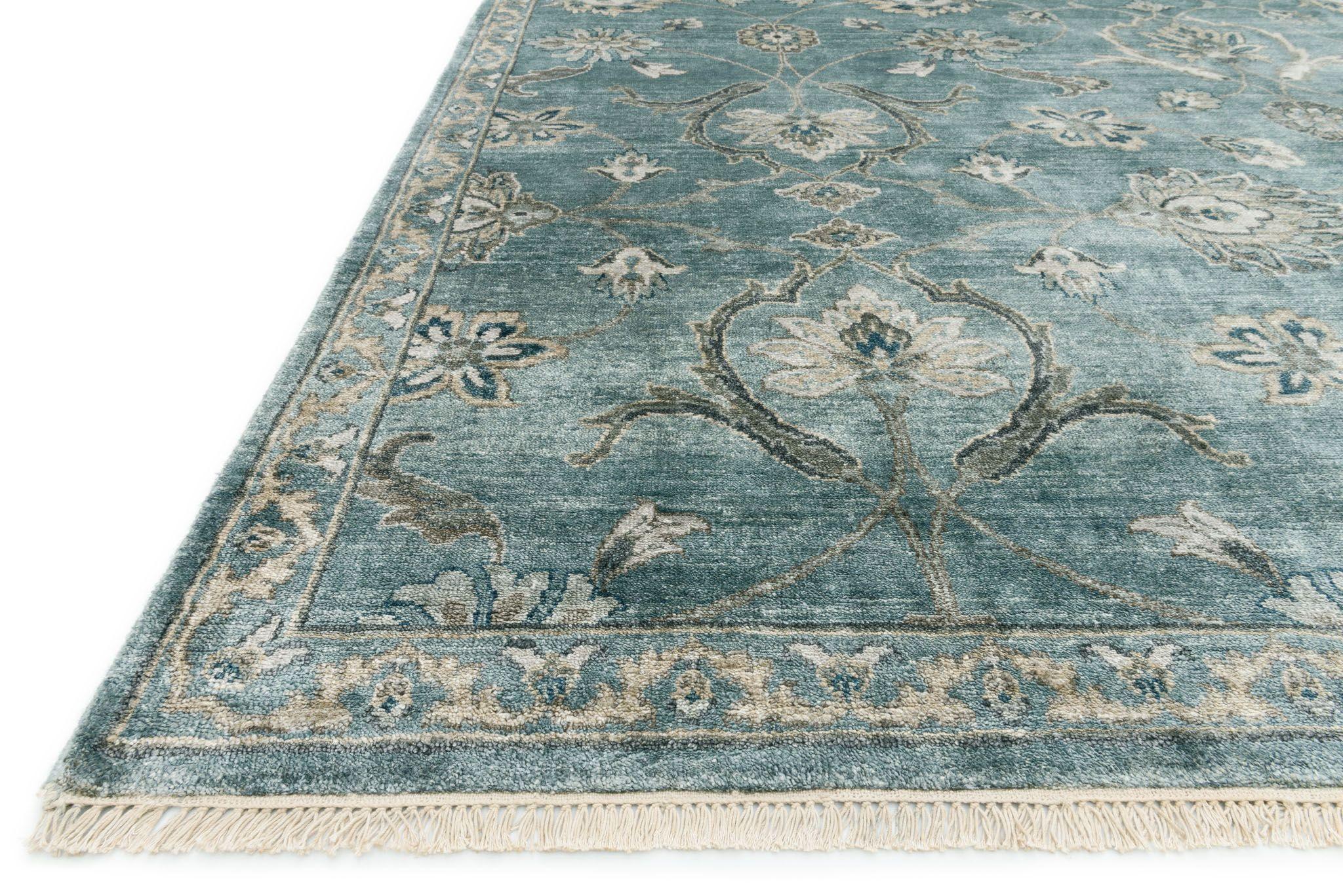 KG 01 Blue Fog Kensington Collection area rugs